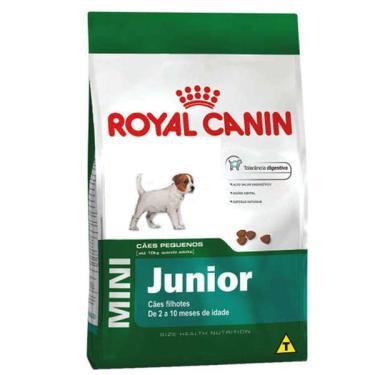 Ração Royal Canin Mini Junior para Cães Filhotes de Raças Pequenas de 2 a 10 Meses de Idade - 2,5 kg