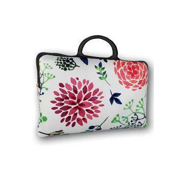 4f77f8f1e Pasta Para Notebook Tritengo Com Alça De Mão - Floral Flox
