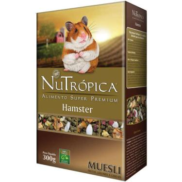 Ração Nutrópica com Legumes e Frutas para Hamster Muesli - 300gr