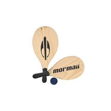 Kit Frescobol 2 Raquetes + 1 Bola Mormaii