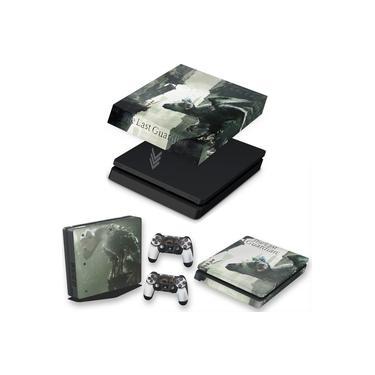 Capa Anti Poeira e Skin para PS4 Slim - The Last Guardian