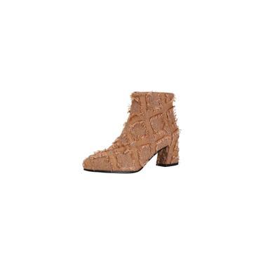 Sapatos de salto alto pontiagudos femininos de salto alto com zíper borla de renda
