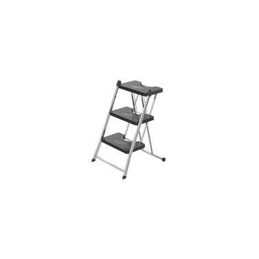 Escada De Aço Inox Com 3 Degraus Anodilar 63 X 41 Cm - 2383