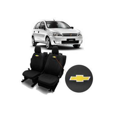 Capas De Bancos Automotivos Couro Carro Específicas Chevrolet Corsa Sedan 1995 a 2012