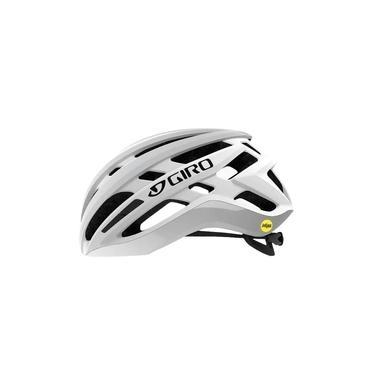 Capacete Ciclismo Mtb Road Giro Agilis Mips Branco E Prata