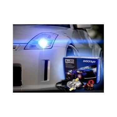 29538b492bf Lâmpada Super LED tipo xenon para Del Rey - Farol de milha H3 32W 2200  Lumens