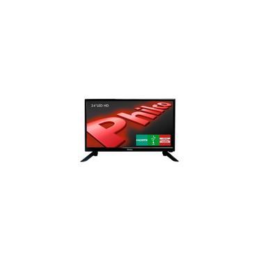 Imagem de TV LED 24 Polegadas Philco HD hdmi USB PH24N91D