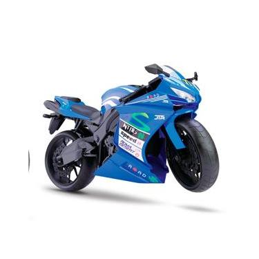 Moto Rodas Livres - Roma Racing Motorcycle - Azul Escura - Roma Jensen