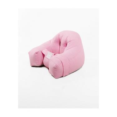 Almofada amamentação Baby Holder- Senta-bebê rosa  Grátis protetor de pescoço  menina