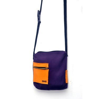 Bolsa Dhg Clothing Colors Roxo  unissex