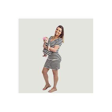 Vestido Amamentação Sofia -Tal Mãe, Tal Filho (Mãe)
