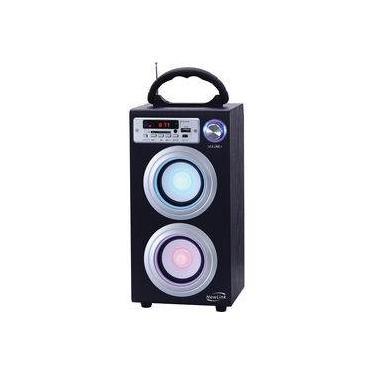 Torre Bluetooth Sp106 30w Rms Rádio Fm Newlink