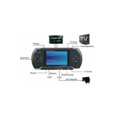 Video Game Portátil Pxp Pvp Similar ao Game Boy Digital Mini Game