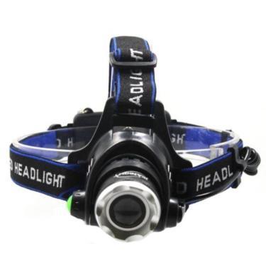 Lanterna De Cabeça Profissional Headlight Com Zoom Ajustável