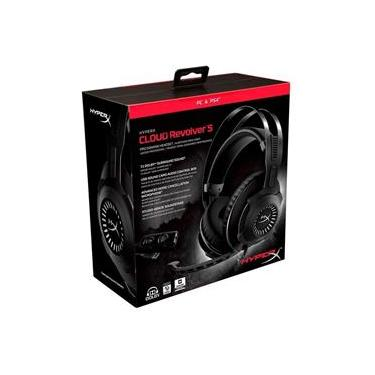 Headset Gamer HyperX Cloud Revolver S 7.1 Dolby Digital - PC, PS4 e PS4 Pro