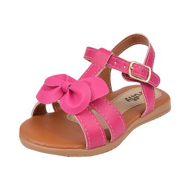 Sandalia Fuffy Infantil Menina Pink  menina