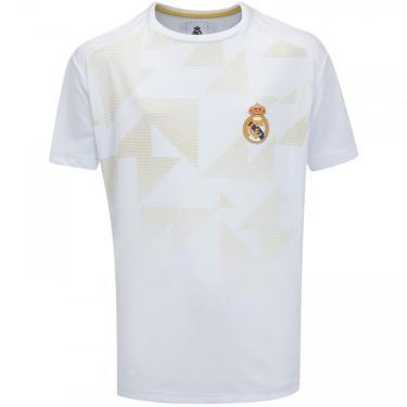 Camiseta Real Madrid Hala Madrid - Infantil Real Madrid Unissex