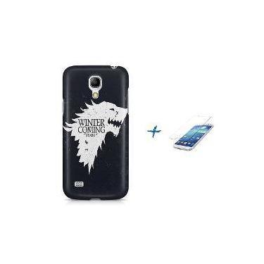 Kit Capa Case Tpu Galaxy S4 Mini Game Of Thrones + Película De Vidro (Bd01)