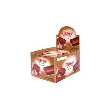 Imagem de Barra De Cereal Brownie Display Com 24 Un - Ritter