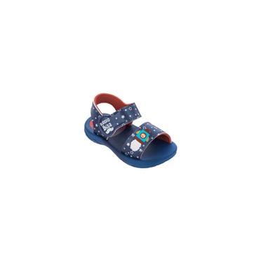 Imagem de Sandalia Grendene Kids Mundo Bita Classic - 22665 - Azul/Azul/Vermelho