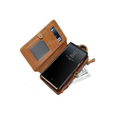 Capa Case Carteira Galaxy Note 10 Tela 6.3 Premium 2 Em 1 Top