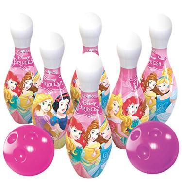 Imagem de Jogo de Boliche Princesas Lider Brinquedos Rosa