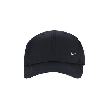 Boné Aba Curva Nike Sportswear H86 Metal Swoosh - Strapback - Adulto -  PRETO Nike 93957829c6b