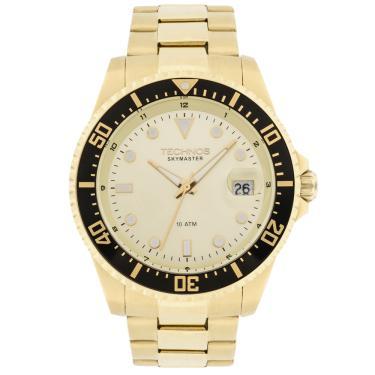 Relógio de Pulso Technos Resistente a àgua Data   Joalheria   Comparar  preço de Relógio de Pulso - Zoom 8be23200fa