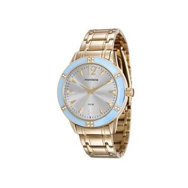 6469e66fa4d Relógio Feminino Analógico Mondaine 76600LPMVDE2 – Dourado