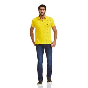 26230b8176ebb Pólo Acostamento Masculino Amarelo