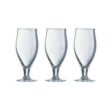 Conjunto de 3 Taças para Cerveja Cervoise em Vidro 500ml Luminarc