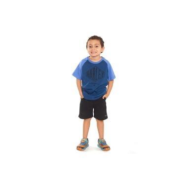 Camiseta Hurley Infantil 634832 Azul Escuro