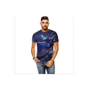 Camiseta League Of Legends Anivia Gelo Sombrio Cinza Masculina