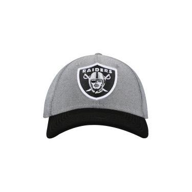 Boné Aba Curva New Era 940 Oakland Raiders SN Core Denim - Snapback -  Adulto - CINZA New Era 3be58cce115