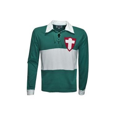 Camisa Liga Retrô Palmeiras (Palestra Italia) 1916 Longa