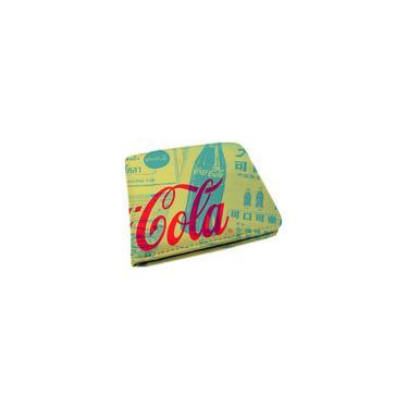 Carteira Coca-Cola Retrô Green