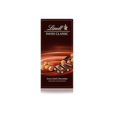 Tablete Chocolate Suíço Dark Hazelnut 100g - Lindt