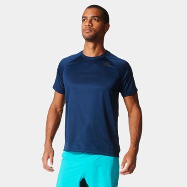 Camiseta Adidas D2M 3S Masculina - Masculino 5b2a9fe7cf024