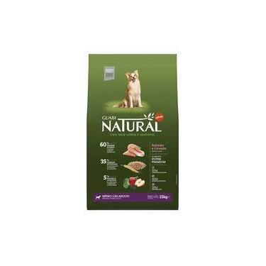 Ração Affinity Guabi Natural Salmão E Cevada Para Cães Adultos Raças Média - 15 Kg
