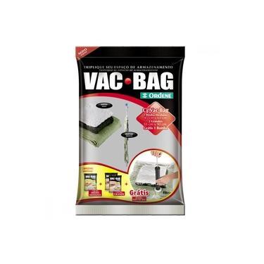 Imagem de Kit Embalagens de Sacos a Vácuo e Bomba Plástica para Vac Bag 56200 Ordene 4 Peças