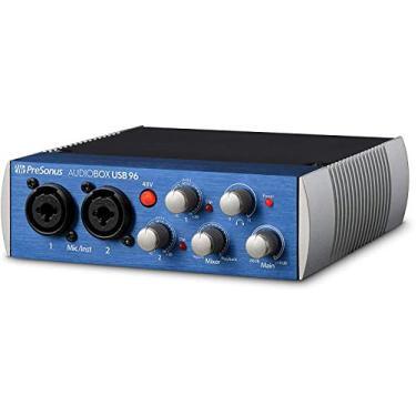 Imagem de PreSonus AudioBox USB 96 2x2 Interface de áudio USB com Studio One Artist e Ableton Live Lite DAW Software de gravação