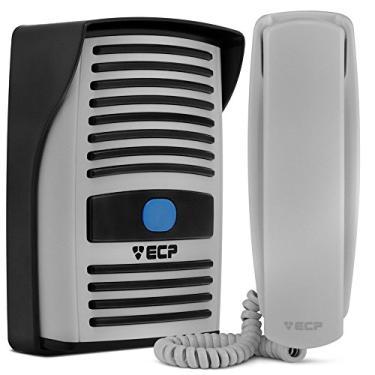 Imagem de Interfone Residencial Ecp Intervox Com Monofone. Faz Acionamento de Qualquer Fechadura 12V.