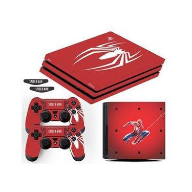 Adesivo Skin PS4 Pro Spider Man Edição Limitada