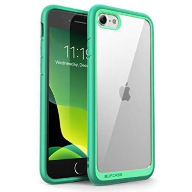 CapaSUPCASEUnicornBeetleStyle,CapaProtetoraparaiPhoneSE2ndgeração2020,iPhone7,iPhone8,HíbridaPremium(Verde)