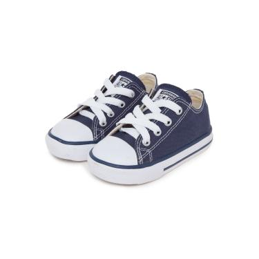 e7a00429d3c Tênis Converse All Star Básico Infantil Azul-Marinho Converse CK0001.0003  menino