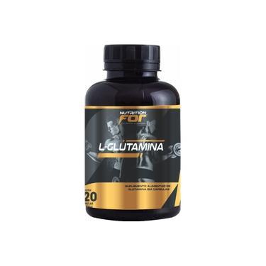 L-glutamina 500mg 120 Caps