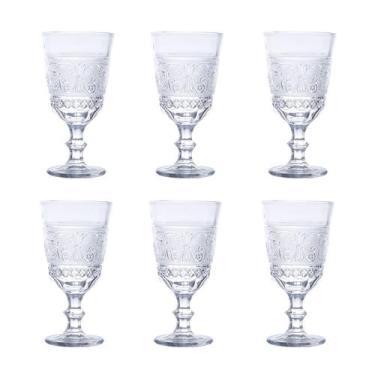 Imagem de Jogo 6 Taças 330Ml Para Vinho De Vidro Transparente Buske Bon Gourmet