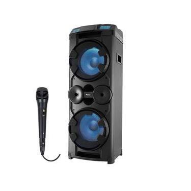 Caixa de Som Amplificada Philco PCX20000 1800w com Microfone
