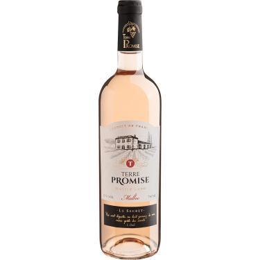 Vinho Rosé -  Terre Promise Malbec Rosé Côtes du Lot 2018 Malbec  - França Vignobles Château Laur