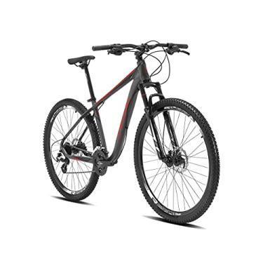 Imagem de Bicicleta aro 29 Elleven Reactor 21V Shimano Tourney,19,Cinza Vermelho